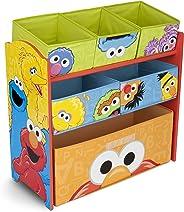 Delta Children Multi-Bin Toy Organizer, Sesame Street