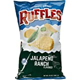 Ruffles Jalapeno Ranch Potato Chips, 184.2g