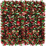 26.2 Feet Christmas Tinsel Garland Metallic Christmas Tree Garland Shiny Party Tinsel Garland Hanging Decorations for Christm