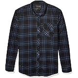 Fox Racing Mens 23890 Stretch Flannel Long Sleeves Button Down Shirt