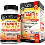 Vitamin C 1000mg Capsules with Zinc, Rose Hips & Bioflavonoids - Immune Support Supplement with 10x The Power of Vitamin C -