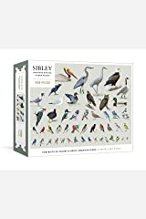 Sibley Backyard Birding Puzzle: 1000-Piece Jigsaw Puzzle with Portraits of Favorite North American Birds Game