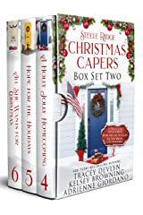 Steele Ridge Christmas Caper Box Set 2: A Small Town Military Multicultural Secret Baby Holiday Romance Novella Box Set (Steele Ridge Holiday Anthology) Kindle Edition