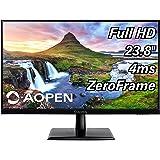 AOPEN 24CH2Y bix 23.8-inch Full HD (1920 x 1080) IPS Monitor 75Hz, 4ms (1 x HDMI & VGA Port), Black