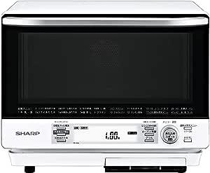 シャープ 過熱水蒸気オーブンレンジ 2段調理 31L ホワイト RE-V100A-W