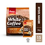 Super Charcoal Roasted White Coffee Brown Sugar, 36g (Pack of 15)