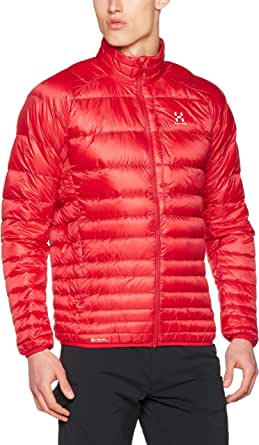 (ホグロフス)HAGLOFS ESSENS III DOWN JACKET 603063 2C9 REAL RED/RUBIN L
