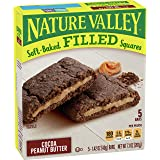 Nature Valley Soft-Baked Oatmeal Squares, Cocoa Peanut Butter, 6 ct, 7.1 oz