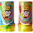 Topps Triple Power Push Pop Fruit Candy, 16 x 34 Grams
