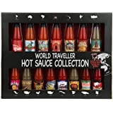 Modern Gourmet Foods, Global Chilli Hot Sauce Gift Set, 15 Inspired Hot Sauce Flavours Including Hawaiian Lava Flow, Thai-rif