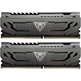 Patriot Viper Steel DDR4 32GB (2x16GB) 3200MHz PC4-25600 Dual Memory Kit - PVS432G320C6K