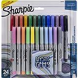 Sharpie Mystic Gems Ultra-Fine Point Permenent Marker 24/Pkg-2136772