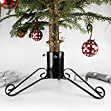 Bosmere G452 4-inch Christmas Tree Stand Sparkle Size - Black