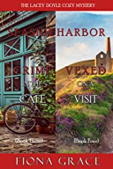 A Lacey Doyle Cozy Mystery Bundle: Crime in the Café (#3) and Vexed on a Visit (#4) Kindle Edition