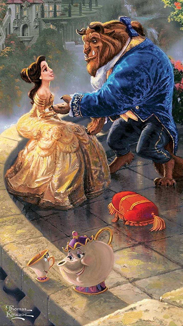 ディズニー 美女と野獣 Hd 720 1280 壁紙 画像40557 スマポ