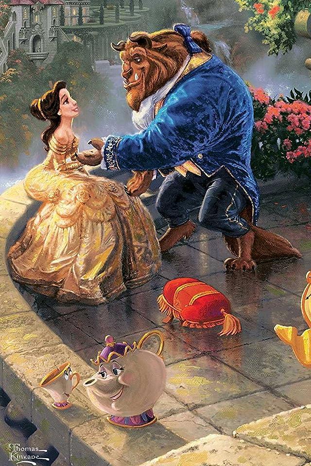 ディズニー 美女と野獣 iPhone(640×960)壁紙 画像38927 スマポ