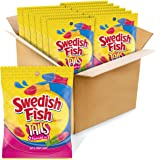 SWEDISH FISH Tails Candy, 12 Bags (5 oz.)
