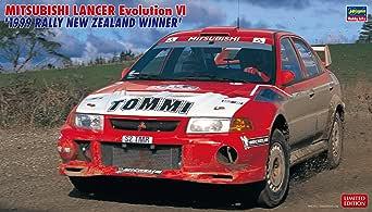 ハセガワ 1/24 三菱 ランサー エボリューション VI 1999 ラリー ニュージーランド ウィナー プラモデル 20415