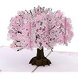 Lovepop Cherry Blossom Pop Up Card - 3D Card, Mother's Day Card, Pop Up Mother's Day Call, Card for Wife, Card for Mom, Anniv