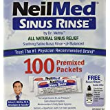 Neilmed Sinus Rinse Refill Packets, 100 Ct