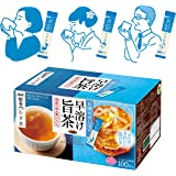 AGF 新茶人 さらっとむぎ茶スティック 100本 【 お茶 スティック 】【 麦茶 粉末 】【 ティーバッグ不要 】