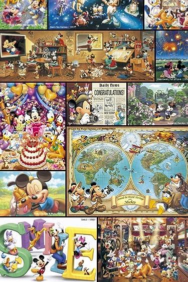 ディズニー  iPhone/Androidスマホ壁紙(640×960)-13 - ミッキー ぎゅっと詰め込みました