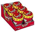 Skittles Fruits 100g Bottle, (6 Bottles)