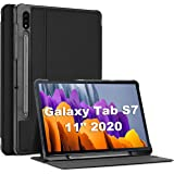 ProCase Galaxy Tab S7 11 Case 2020 with S Pen Holder(SM-T870 T875 T878), Slim Protective Folio Cover for Galaxy Tab S7 2020 R