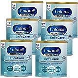 Enfamil NeuroPro EnfaCare Premature Baby Formula Milk Based w/Iron 12.8 Oz. Powder Can (Pack of 6)