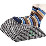 Trobing Office Foot Rest Under Desk - Ergonomic Curve Cushion Provide More Comfort for Legs, Pressure Relief, Help for Blood