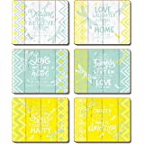 Cinnamon Hello Yellow Drink Coasters