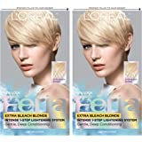 L'Oreal Paris Feria Multi-Faceted Shimmering Permanent Hair Color, 205 Bleach Blonding (Extra Bleach Blonde), Pack of 2, Hair