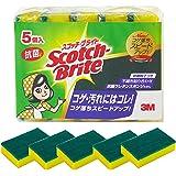 スリーエム(3M) スコッチブライト キッチンスポンジ 抗菌たわしS 5個 S-21KS 5PC