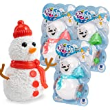 Educational Insights Playfoam Build a Snowman, Set of 3, Perfect Stocking Stuffer, Holiday Gift for Kids 3+