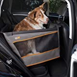 """K&H Pet Products Buckle N' Go Dog Car Seat for Pets, Gray, Large (21"""" x 19"""" x 19"""")"""