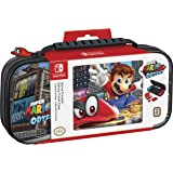 Nintendo Switch Super Mario Odyssey Carrying Case – Protective Deluxe Travel Case – PU Leather Exterior – Official Nintendo L