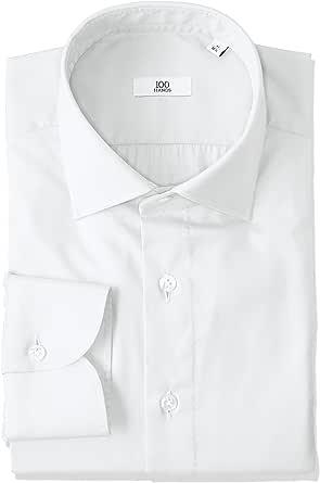 (ハンドレッドハンズ)100HANDS RXC207 綿100% 無地シャツ 003 WHITE TWILL ホワイト