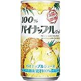 サンガリア 100% パインナップルジュース 190g ×30本