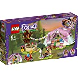 LEGO Friends Nature Glamping 41392 Building Kit; Includes LEGO Friends Mia, A Mini-Doll Tent and A Toy Bicycle