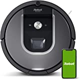 iRobot Roomba 960 Robot Vacuum with Wi-Fi Connectivity, Compatible with Alexa, Ideal for Pet Hair, Carpets, Hard Floors