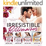 Irresistible Billionaires : A Contemporary Romance Series Box Set (English Edition)