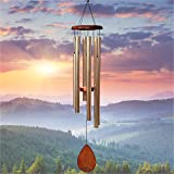 """UpBlend Outdoors Large Wind Chime - The Classic Havasu is 38"""" Total Length - Hand-Tuned and Beautiful as a Gift or for Your P"""