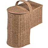 "Trademark Innovations 15.25"" Storage Stair Basket With Handle"