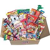 "OHIMESAMA Gift Japanese Snack Assortment 35 Pcs Of 27 Types Full Of \""Dagashi\"", Snack Selection (2Nd Version)"