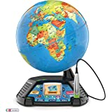 LeapFrog Magic Adventures Globe, Interactive Childrens Globe, Educational Smart Globe for Kids with 2.7 Inch LCD Screen, Toys
