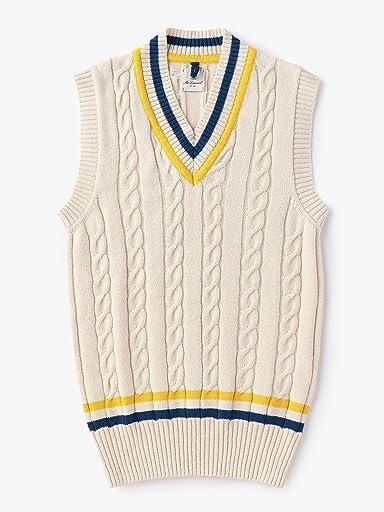 Mc Lauren Cricket Vest 1118-343-3884: Navy