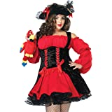 Leg Avenue Women's Vixen Pirate Wench Costume
