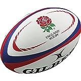 Gilbert England International Replica Rugby Ball - Size 5 -