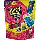Juicy Drop Pop Sweet & Sour Liquid Lollipops, Assorted Flavors Halloween Variety Pack - 4 Count Bag (Pack of 7)