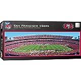 MasterPieces NFL Seattle Seahawks Stadium Panoramic Jigsaw Puzzle, 1000-Piece